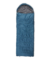Blue Envelope Sleeping Bag Left Zip