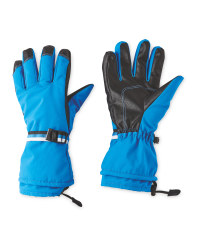 Inoc Blue Ski Gloves
