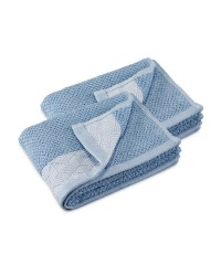 Kirkton House Blue Guest Towels Set
