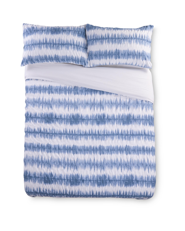Blue King Duvet Set