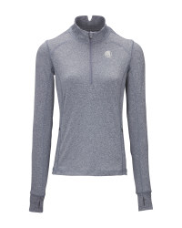 Blue Ladies' Equestrian Base Top