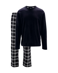 Men's Black Pyjamas