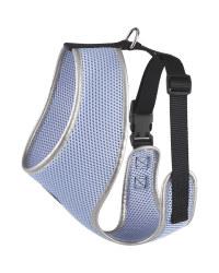 Blue Mesh Dog Harness