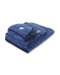 Blue Pet Bathing Bundle