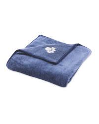 Pet Collection Blue Pet Towel