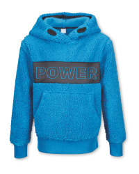 Crane Children's Blue Ski Hoody