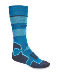 Kids' Blue Ski/Snowboard Socks