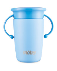 Nuby Blue Stainless Steel Cup