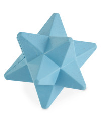 Blue Star Rubber Dog Toy