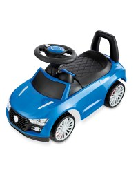 Little Town Blue Toddler Ride-On Car