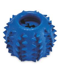 Blue Treat Ball Dog Toy