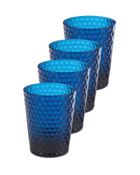 Blue Picnic Tumblers 4 Pack