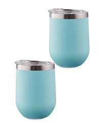 Blue Tumblers 2 Pack