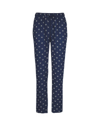 Ladies' Blue Viscose Trousers