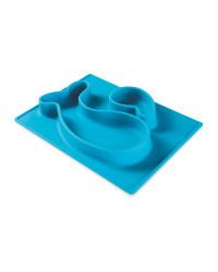 Blue Whale Non-Slip Silicone Mat