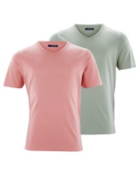 Pink/Green Men's T-Shirt 2-Pack