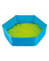 Blue/Green Foldable Baby Pool