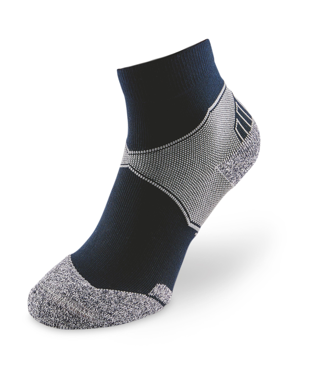 Blue Ankle Trekking Socks