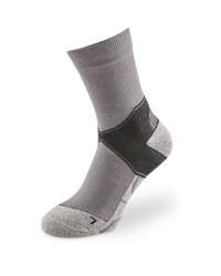 Grey Ankle Trekking Socks