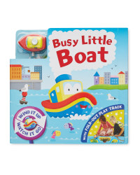 Boat Busy Day Board & Book