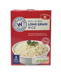 Boil In Bag Long Grain Rice