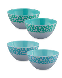 Teal and Blue Bowls