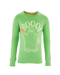 Boy's Ghost Long Sleeve T-Shirt