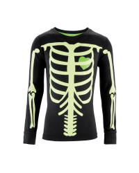 Boy's Skeleton Long Sleeve T-Shirt