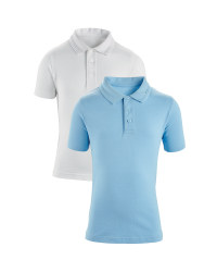 Boys' Polo Shirts 2 Pack