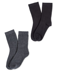 Lily & Dan Boys Ankle Socks 5 Pack
