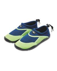 Crane Kids Blue/Green Aqua Shoes