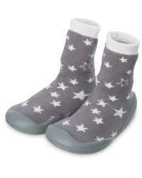 Nuby Crawler Socks Star