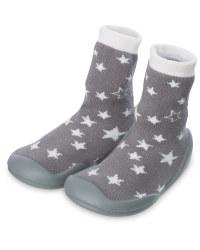Nuby Crawler Socks Star