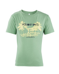 Boys' Outdoor T-Shirt - Green