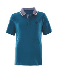 Lily & Dan Boys Polo Shirt - Blue