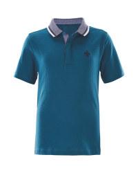 Lily & Dan Boys Polo Shirt - Blue