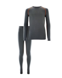 Boys Ski & Sports Base Layer Set - Grey