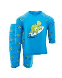 Lily & Dan Turtle Sunsafe Suit