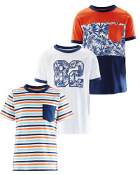 Boys Tropical T-Shirts 3 Pack