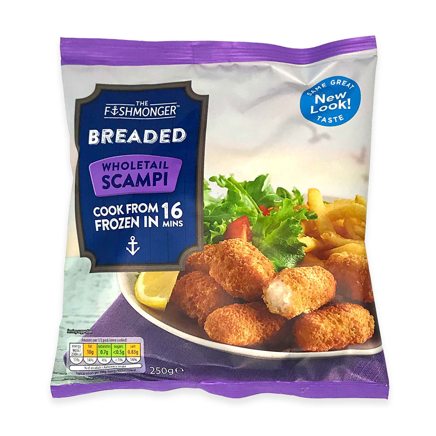 Breaded Wholetail Scampi