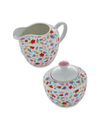 Bright  Milk Jar & Sugar Pot Set