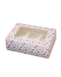 Bright 6 Cupcake Holder Box - 2 Pack