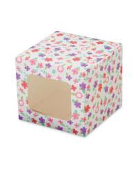Bright Individual Cupcake Boxes