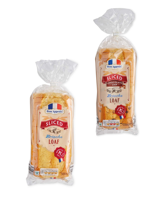 Brioche Loaf Plainchoc Chip