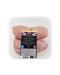British Chicken Thigh Fillets