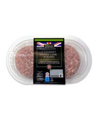 British Minted Lamb Gourmet Burgers
