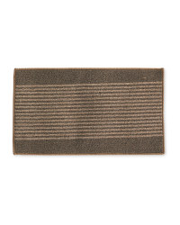 Brown/Beige Washable Mat