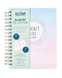 Script Bucket List Planner