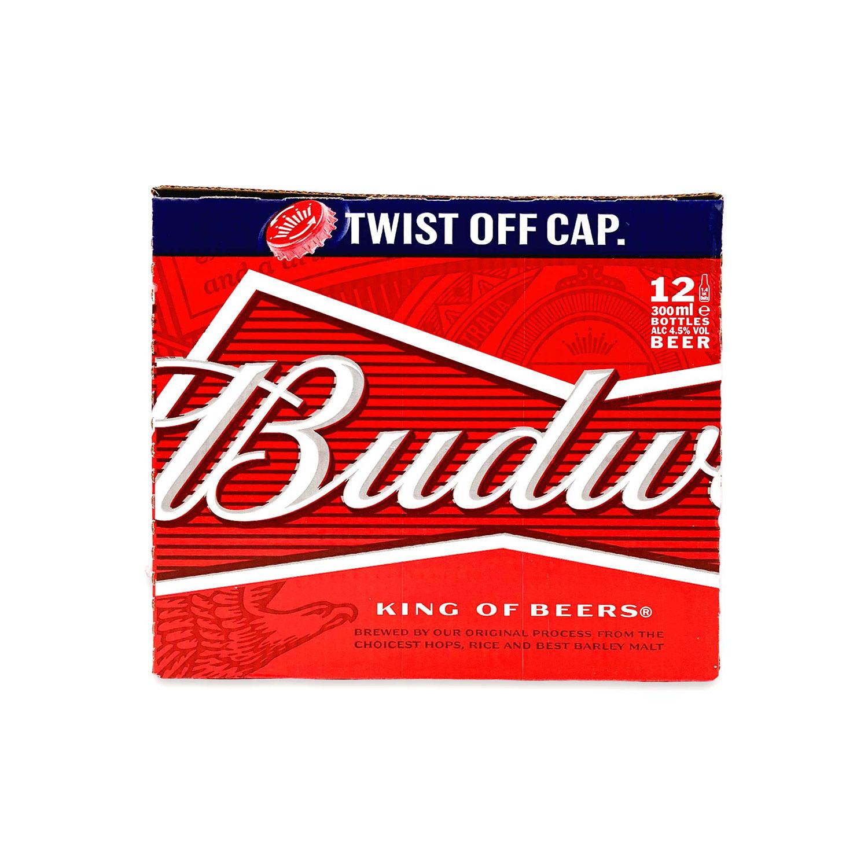 Budweiser Lager Beer Bottles