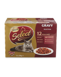 Bumper Pack Gravy Cat Food Pouches